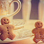 Gingerbread Men Art Print
