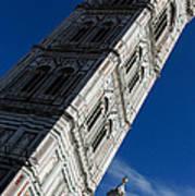 Giotto Fantastic Campanile - Florence Cathedral - Piazza Del Duomo - Italy Art Print
