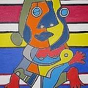 Gipsy Woman Art Print