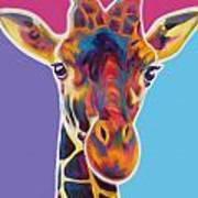 Giraffe Marius Painting By Alicia Vannoy Call