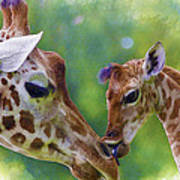 Mom And Me Art Print