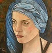 Girl With Turban Art Print