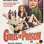 Girls In Prison, Us Poster, Joan Art Print