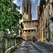 Girona Spain Art Print