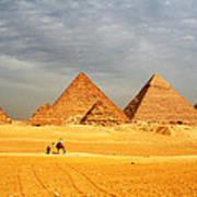 Giza Art Print
