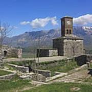 Gjirokaster Castle Albania  Art Print