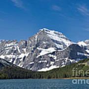 Glacier National Park Mountain Art Print