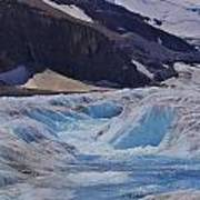 Glacial Meltwater 1 Art Print