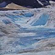 Glacial Meltwater 2 Art Print