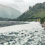 Glacial River Art Print