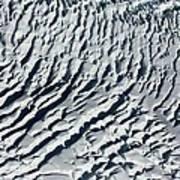 Glacier Abstract Art Print