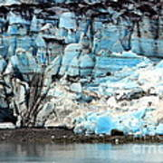 Glacier And Sediments Art Print