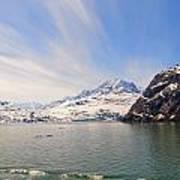 Glacier Bay Sky Art Print