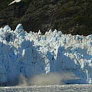 Glacier Calving Art Print