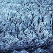 Glacier Ice Art Print