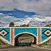 Glacier National Park East Gate Art Print