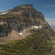 Glacier National Park Panorama Art Print