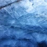 Glacier Of Glass Art Print