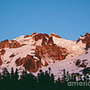 Glacier Peak At Kennedy Ridge Art Print