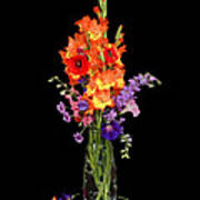 Glad Vase Art Print