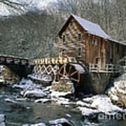 Glade Creek Grist Mill In West Virginia Art Print