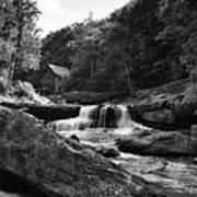 Glade Creek Waterfall Art Print