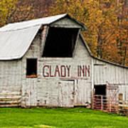 Glady Inn Barn Wv Art Print