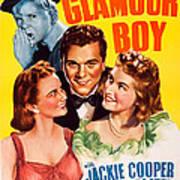 Glamour Boy, Top Jackie Cooper, Bottom Art Print