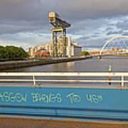 Glasgow Belongs To Us Art Print