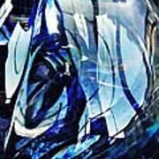 Glass Abstract 140 Art Print