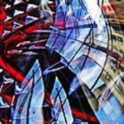 Glass Abstract 220 Art Print