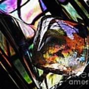 Glass Abstract 314 Art Print