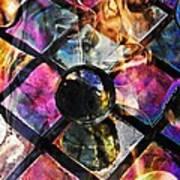 Glass Abstract 393 Art Print