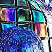 Glass Abstract 490 Art Print