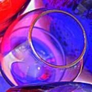 Glass Abstract 594 Art Print