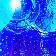 Glass Abstract 603 Art Print