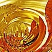 Glass Abstract 642 Art Print