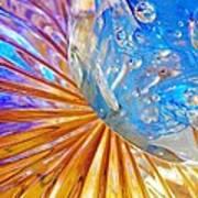 Glass Abstract 767 Art Print