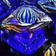 Glass Abstract 95 Art Print