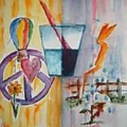 Glass Attitude Art Print