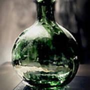 Glass Bottle Print by Danuta Bennett