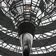 Glass Cupola - Reichstagsbuilding Berlin Art Print