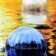 Glass Floats Art Print