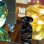 Glass Reflections Art Print
