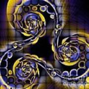 Glass Spirals Art Print