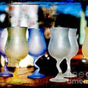 Glassware Art Print by Bobbi Feasel