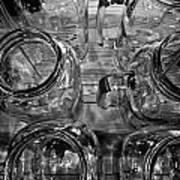 Glasswares Art Print