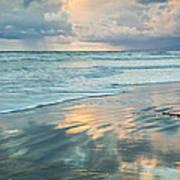 Glassy Beach Art Print