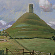 Glastonbury Tor Art Print