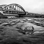 Glen Coe Bridge Art Print